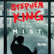 I finished listening to The Mist (Unabridged) by Stephen King, narrated by Will Patton on my Audible app. Try Audible and get it free.