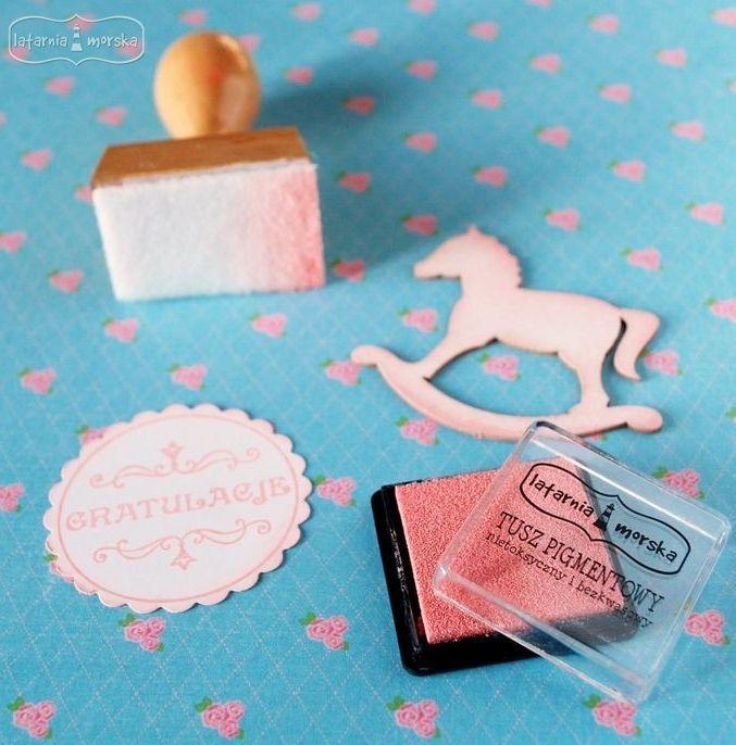 new ink pad color: baby pink http://www.hurt.scrap.com.pl/tusz-pigmentowy-do-stempli-pastelowy-rozowy.html