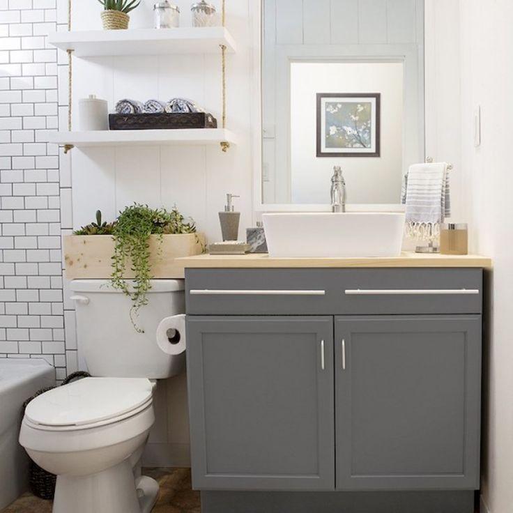 Ideas para sacar el máximo partido a tu baño pequeño #deco #organization #bathroom #organizacion #baño #almacenaje #storage