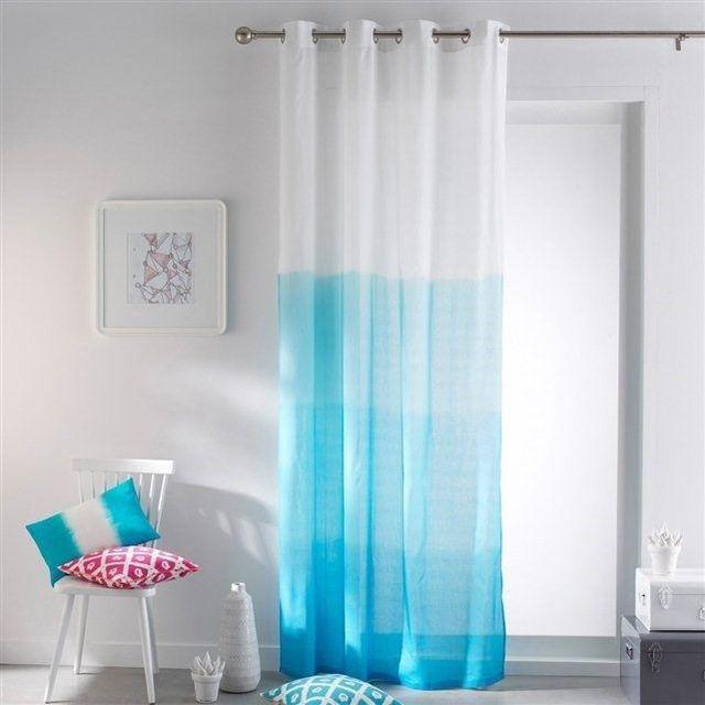 Des rideaux tye and dye. avec boite de teinture Ideal 5€
