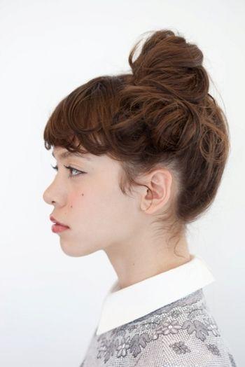 ぶきっちょさんもTry!《ボブ・ミディアム・ロング》簡単まとめ髪スタイル☆ | キナリノ