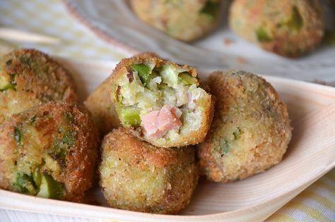 Polpette di asparagi, scopri la ricetta: http://www.misya.info/ricetta/polpette-di-asparagi.htm