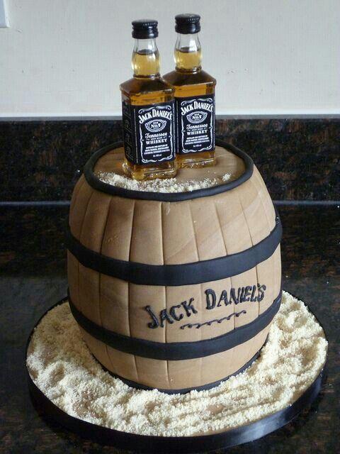 Groom cake. Less cake but more alcohol bottles