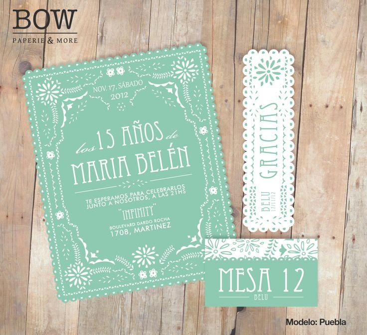 Tarjeta 15 años mint is in! www bowpaperie com Tarjetas Pinterest Mint