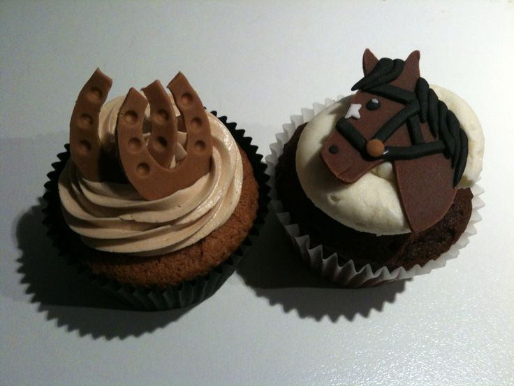 Horse cupcake ferri di cavallo