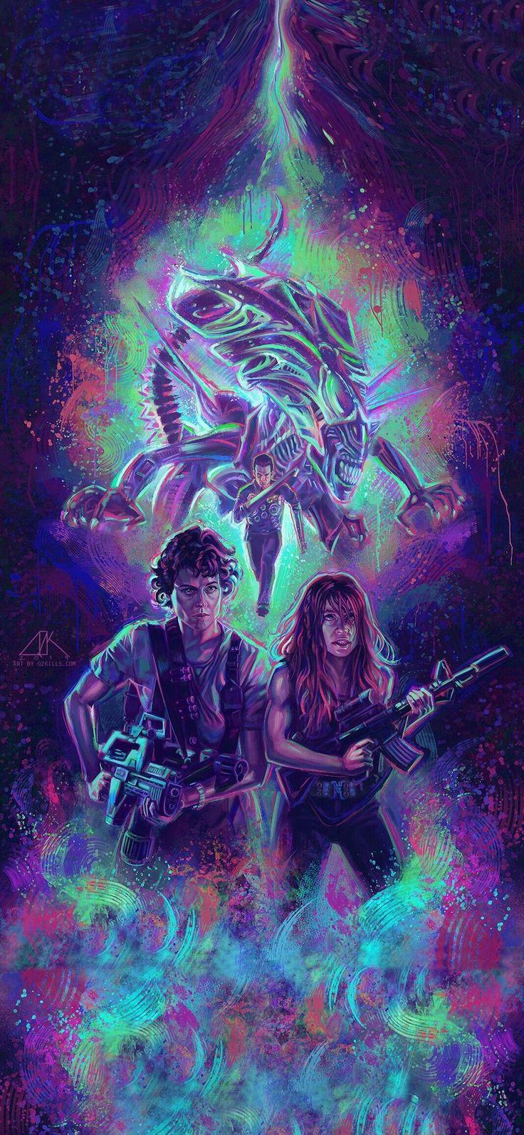 Ripley sarah connor wallpaper Android nerd geek badass