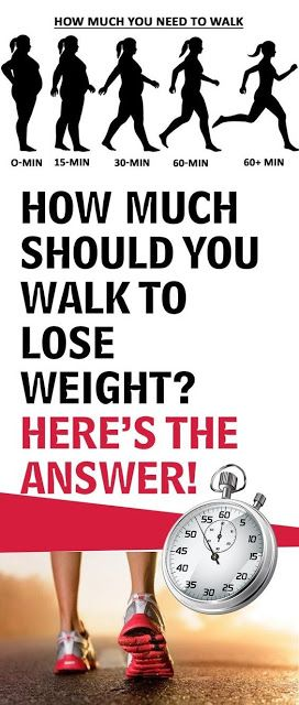 HOW MUCH SHOULD YOU WALK TO LOSE WEIGHT? HERE'S THE ANSWER!