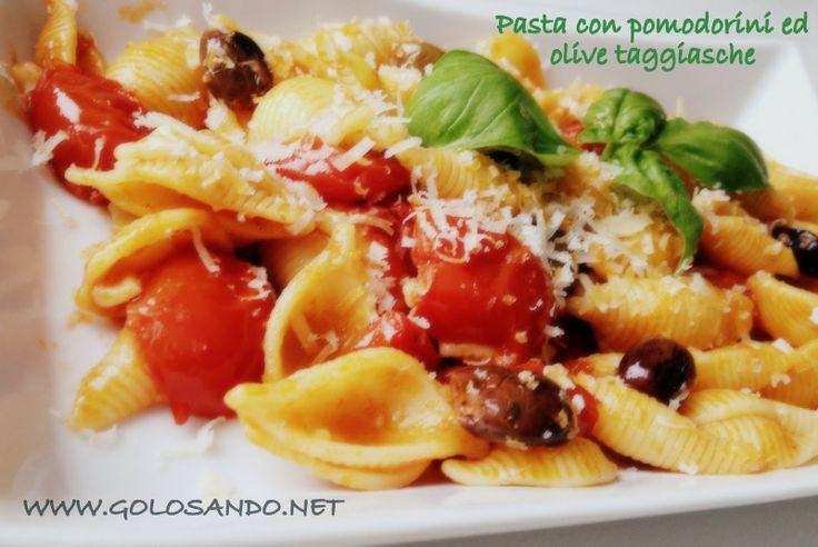 Golosando...serenamente!: Pasta con pomodorini ed olive