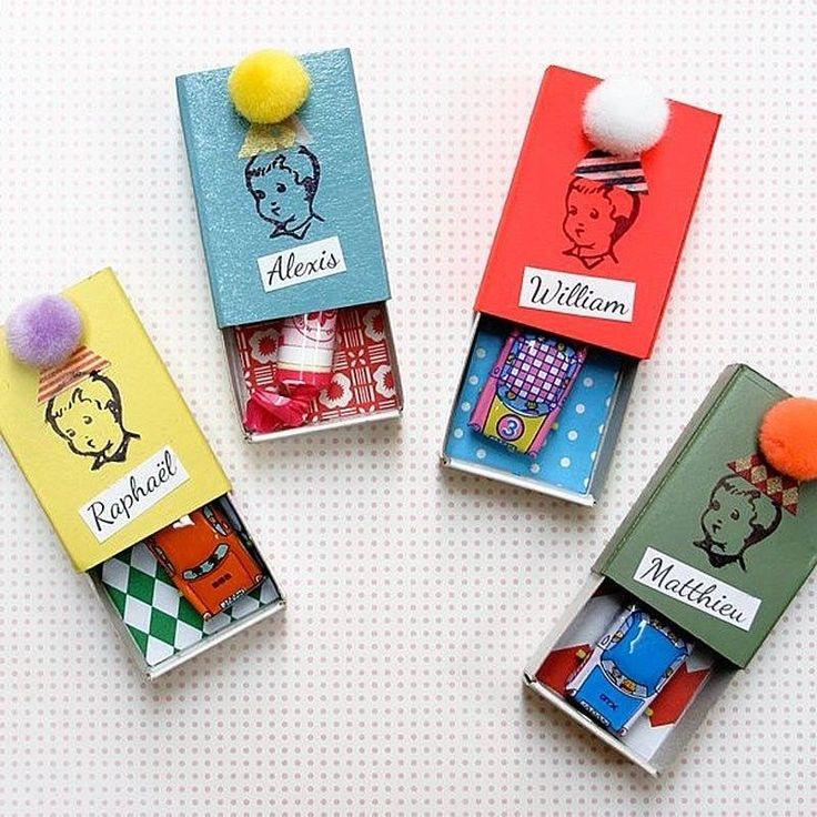 Marie claire id es pour mettre les petits cadeaux des boites d 39 allumettes customis es - Idee de surprise pour anniversaire ...