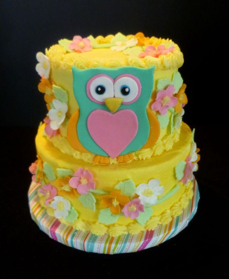 Owl Cakes, Cakes And Twin Cities On Pinterest