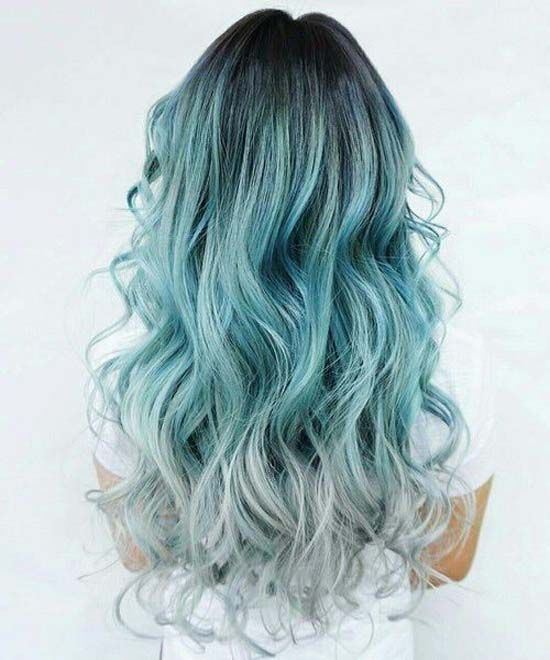 blue hair hairstyle 2018 hairstyles