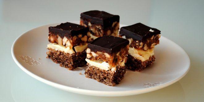 Brutális finomság – Snickers szelet!