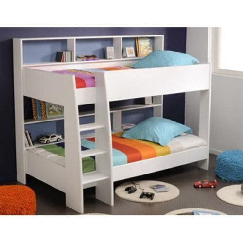 White Parisot Tam Tam Bunk Bed With Shelves Http Www Amazon Co Uk Dp B005uy0uce Ref Cm Sw R