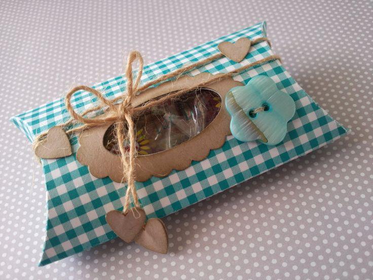 Meine kreative Welt...: Pillow Box...