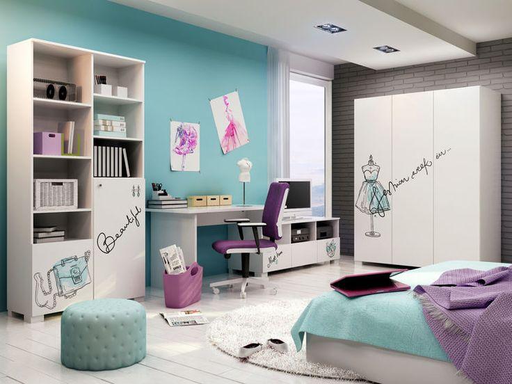 Jakie meble dla dziewczynek? - Myhome #meblik #children #room #girl