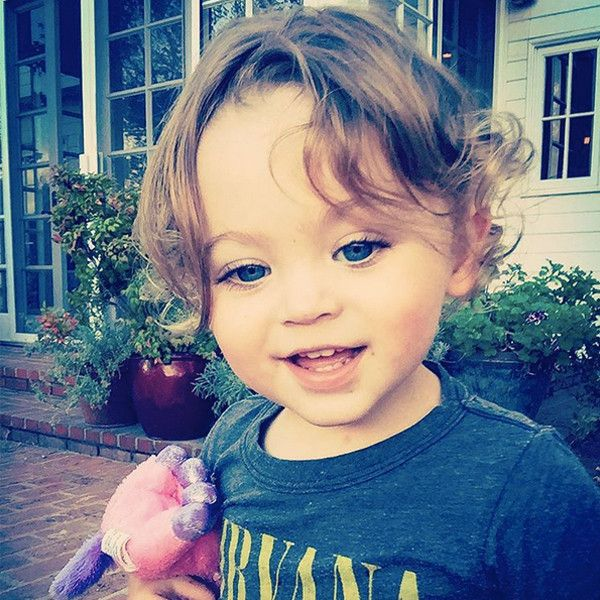 """Bodhi Ransom Green from Cutest Celeb Kids on Instagram Megan Fox shared a cute snap of her younger son, writing, """"Bodhi: Stunner. Clown. Unicorn."""""""