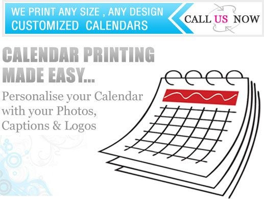 London based calendar printers offer customised calendar printing services in UK. Call 0207 993 5898 for more details & visit  http://www.calendarprinting4u.co.uk