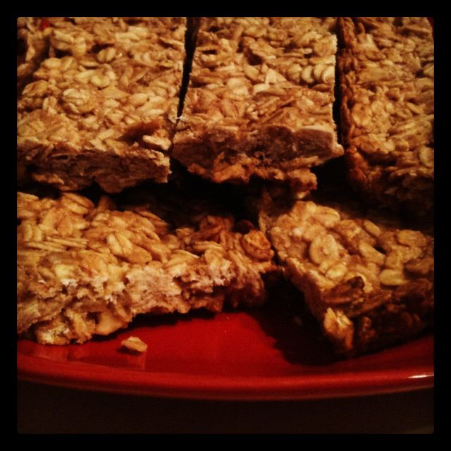 Peanut Butter Granola Bars from Forks Over Knives - The Cookbook