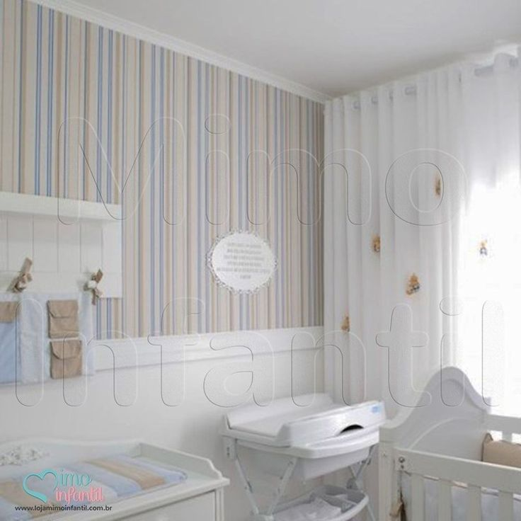 54 best images about 1 papel de parede quarto beb - Papel de pared infantil ...