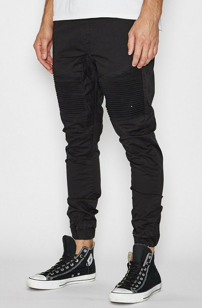 Nena & Pasadena - Destroyer Pants - Jet Black
