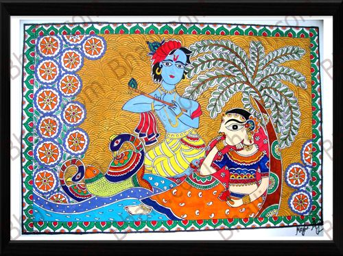 peacock in madhubani paintings - Google Search