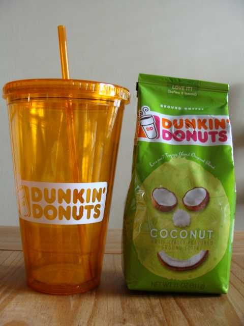 Dunkin Donuts Tumbler giveaway, ends 5/11