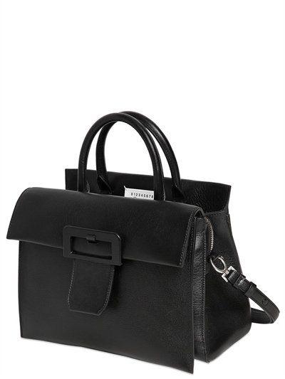 Top Handle Handbag On Sale, White, Leather, 2017, one size Maison Martin Margiela