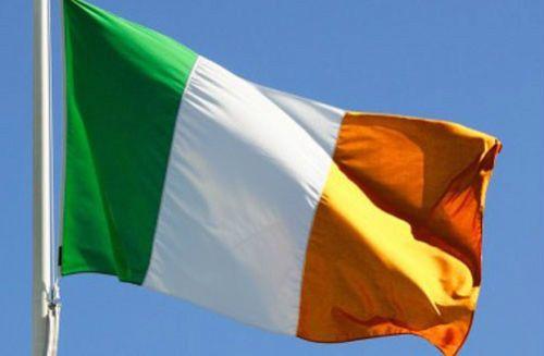 Новая Ирландия Ирландская Республика Большой Флаг 5ft х 3ft Дублин Св. патрика День Футбол Бесплатная Доставка