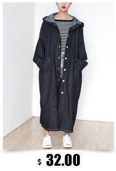 2017 весна женская куртка Пальто мода плюс размер с капюшоном пальто для женщин зимнее пальто черный молния пальто купить на AliExpress