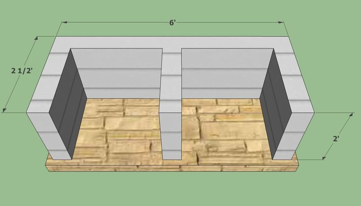 diy built in grill island | How To Build A Brick Barbecue – 11 Free Plans – Plans 1 – 8
