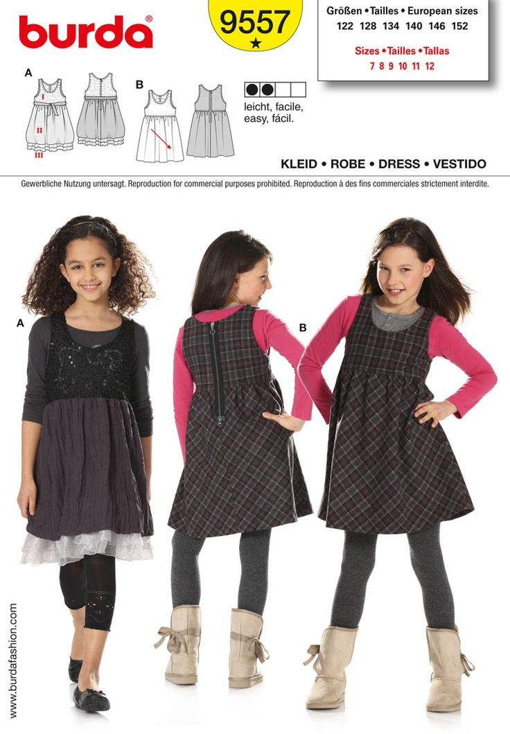 Simplicity : B9557: Sleeveless Dresses, Festive Variant, Checkered Version, Burda Style, Burda 9557, Organza Ruffles, Gathered Bubbled, Bubbled Skirt