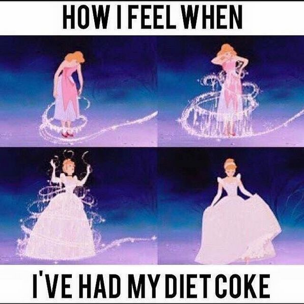 Because what matters is how it makes you ~feel~. | 19 Pictures That Only True Diet Coke Lovers Will Understand