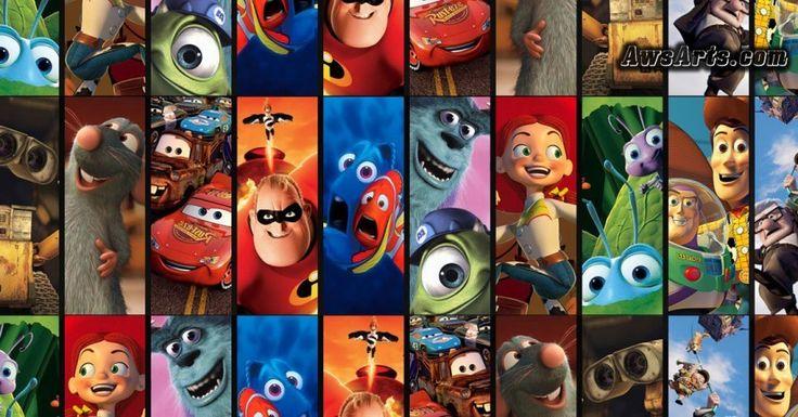Disney Pixar movies and the Theory – AwsArts