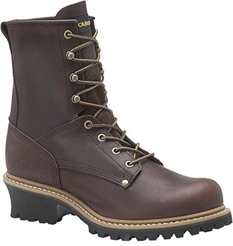 Carolina Uninsulated Steel Toe Logger Boot - http://authenticboots.com/carolina-uninsulated-steel-toe-logger-boot/