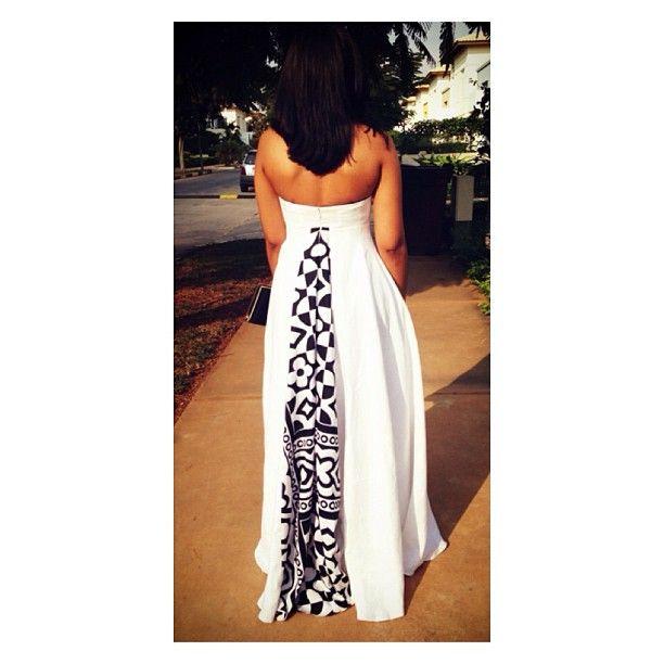 gorgeous dress. By fiu_negru ~African Prints, African women dresses, Kitenge, Ankara, Kente, African fashion styles, African clothing, Nigerian style, Ghanaian fashion ~DK