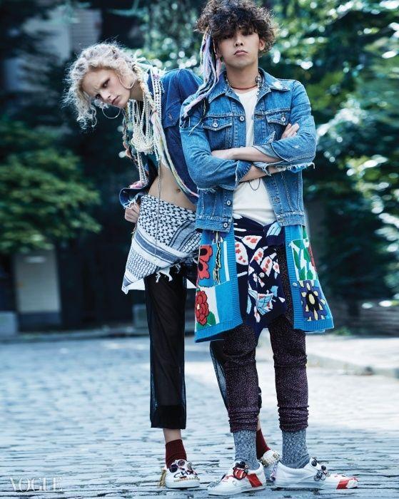 G-Dragon Vogue Korea January 2015 Look 7