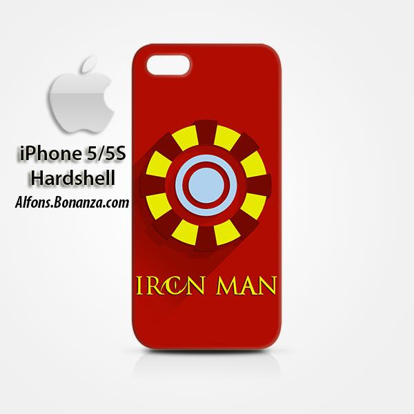 Iron Man Superhero iPhone 5 5s Hardshell Case