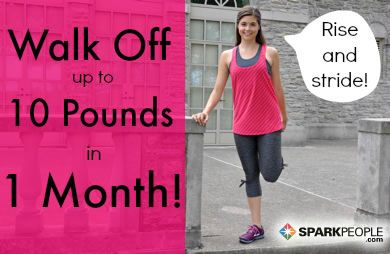Coach Nicole designed this four-week fitness plan to help you shed up to 10 pounds in one month--just by walking.
