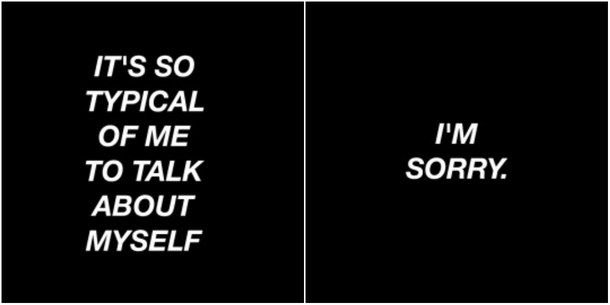 Quotes Aesthetic Black White Sorry Image 4193764 By