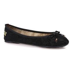 Butterfly Twists Sasha Black Ballet Pumps #balletpumps #shoes #black #lace #pretty #cute #fashion