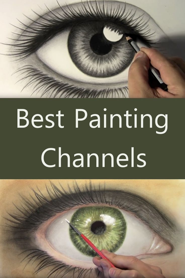 Best YouTube Channels for Drawing & Painting