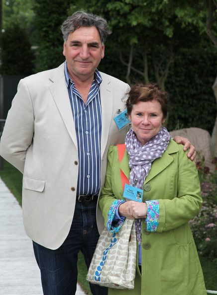 Jim Carter (Mr. Carson in Downton Abbey) is married to Imelda Staunton (Dolores Umbridge in Harry Potter films)!!