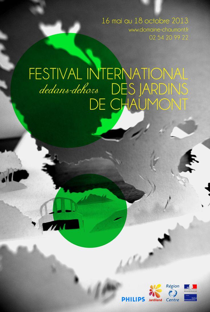 Poster for a garden festival // school & cool stuff // I love paper °w° // 160