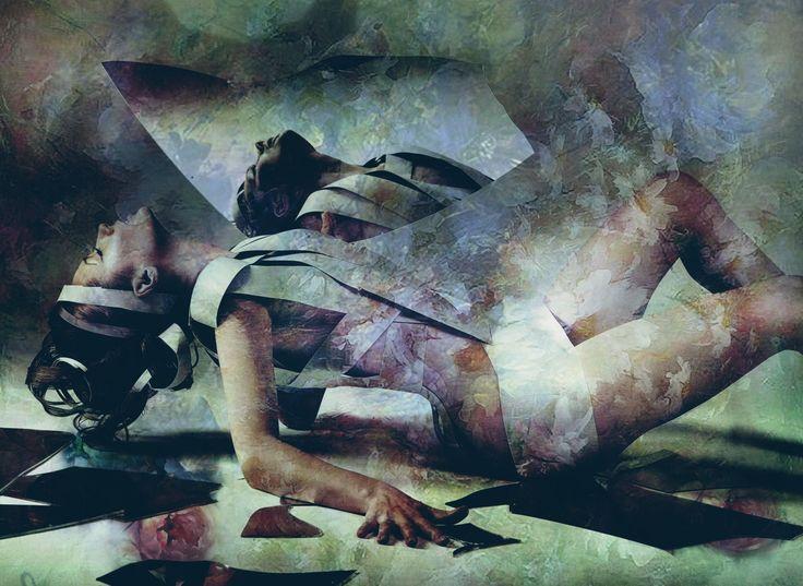 C'est dit avec des fleurs (Digital Arts) by Dodi Ballada C'est dit avec des fleurs, digital painting by Dodi Ballada