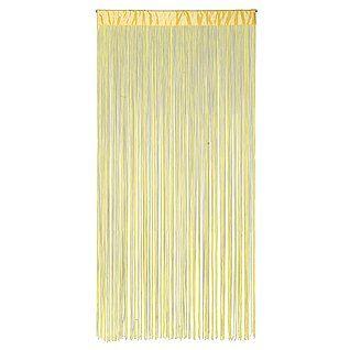 Deko Fransen-Vorhang, gelb & Dekoration bei DekoWoerner