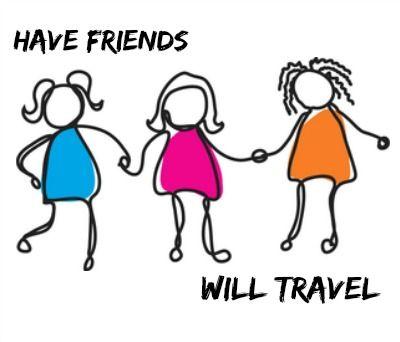 Girls Getaway Trip - Daily Dish Magazine   Clip art, Stick ... (400 x 342 Pixel)