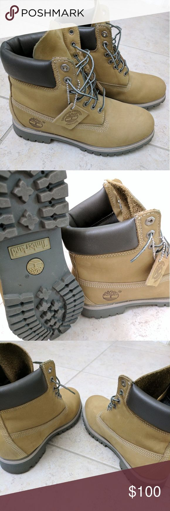Men's Timberland Boots Size 9.5, tan colored boots. In excellent condition! Timberland Shoes Boots