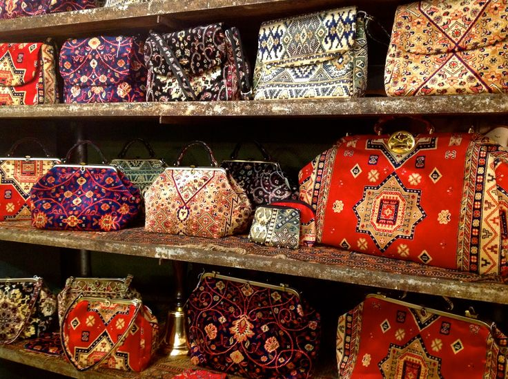 Traditional carpet bags, handmade in Suffolk