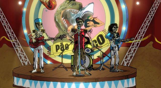 """Observatório Animado: Clipe """"Tragicomédia"""" da Banda Pão e Circo"""