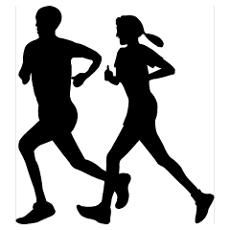 cross country running clip art | Cross Country Posters | CafePress